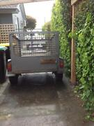 Trailer with cage 5 X 4 Port Fairy Moyne Area Preview