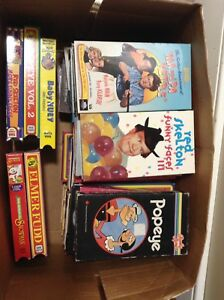Box of 26 -New & Next To New- VHS Oldies Movies