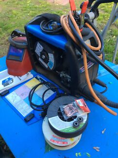 Cigweld transmig inverter welder 175i gas &  gasless benzil 250a torch