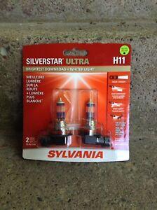 Silverstar Ultra H11 Headlight Replacement Bulbs