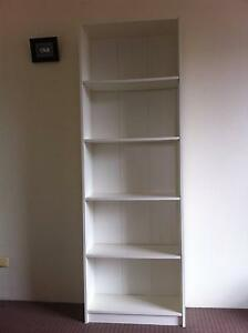 Beautifuk BILLY Bookcase, white, almost new Meadowbank Ryde Area Preview