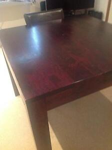 4 seater dining table with chairs Botany Botany Bay Area Preview