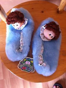 Vintage CABBAGE PATCH slippers. With tags
