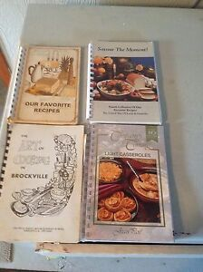 Collection of older cookbooks