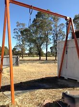 Gantry with Roller and block and tackle Longlea Bendigo Surrounds Preview