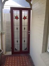 Federation style timber and lead light front door Mosman Mosman Area Preview