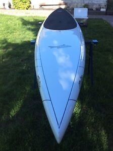 carbon fibre paddle board .  Only 23 lbs