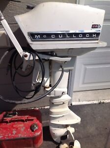 McCulloch 28 hp Outboard Long leg