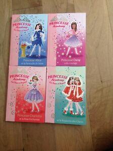 """Lot de livres """"princesse academy"""""""