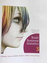 $80  Basic Business Statistics 3rd Edition-- Berenson /negotiable Taree Greater Taree Area Preview