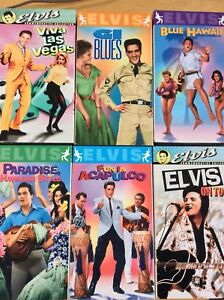 Elvis Presley VHS Tapes. 6 in Total One still with unbroken seal