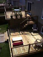 Fence/Deck/Siding for Your seadoo/hot tub