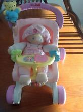 Kids Pram and Dolly Set Fisher Price Brand Mango Hill Pine Rivers Area Preview