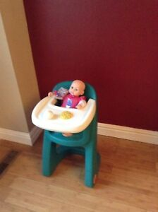 Toy baby height chair