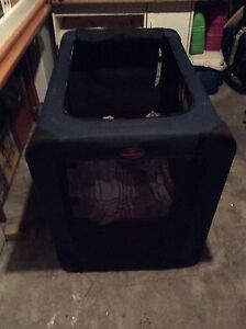 Med to large dog crate collapsible