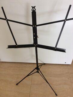 Music stand, adjustable