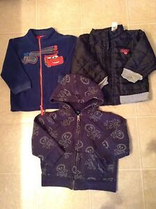 Toddler Boy's Zip-Ups 2T-3T