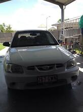2002 Hyundai Accent Hatchback Burdell Townsville Surrounds Preview