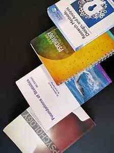 First year University Psychology Textbooks Cranbourne Casey Area Preview