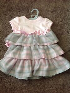 6 Fresh Sets of Baby Girl Clothes.