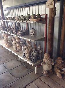 Concrete Garden ornaments, statues, bird bath, Waterford Logan Area Preview