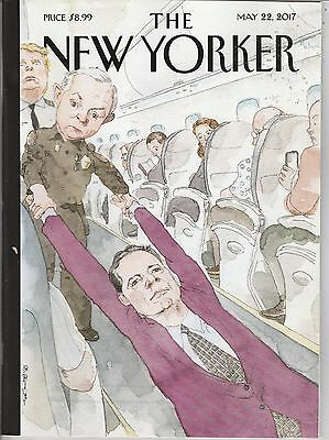 MAY 22 2017 NEW YORKER magazine DONALD TRUMP - SESSIONS - FBI COMEY - AIRPLANE