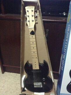 Children's Electric Guitar & Amplifier