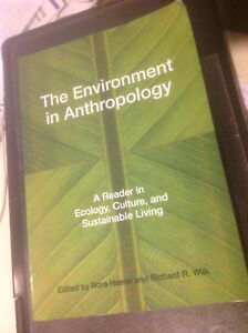 The Environment in anthropology. University textbook.