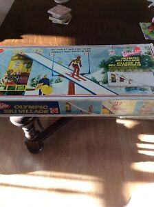 Vintage Barbie Olympic Ski Village complete in box