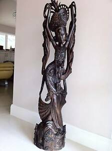 Balinese Wooden Sculpture Dural Hornsby Area Preview