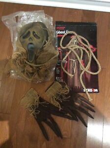 Halloween Child GhostFace (Includes Mask, Gloves and Belt)(New)