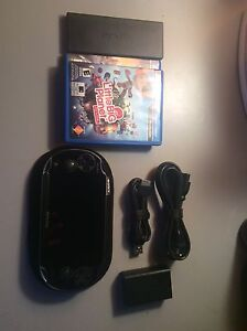 PSVita w/ case and games