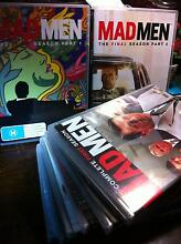 Mad Men Complete Series Seasons 1-7 Whole set of DVDs Marrickville Marrickville Area Preview
