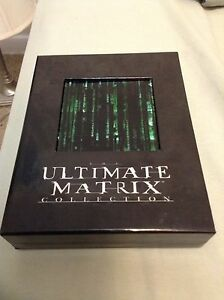 The Matrix Collection on Blu Ray