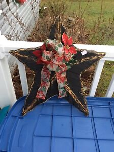 Christmas decorations-star, wall hanging, snowman, stockings