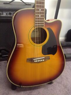Ibanez PF60CE acoustic electric guitar Victoria Point Redland Area Preview