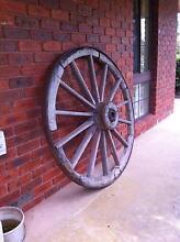 Antique wagon wheel Gordon Moorabool Area Preview