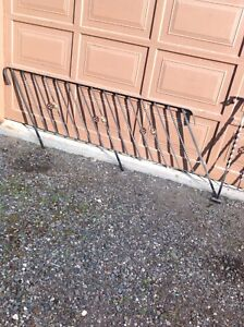 3pc iron railing