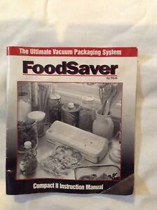FoodSaver Vacuum Packaging System