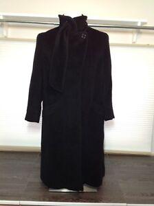 Black Hilary Radley designer coat - 12