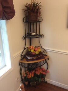 Four - tiered Corner Shelf $65