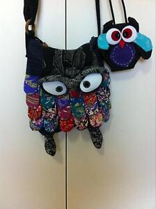 Owl bag and purse Somerset Waratah Area Preview