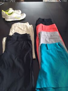 Women's golf shorts and pants