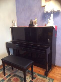 Apollo upright piano black colour Kellyville The Hills District Preview