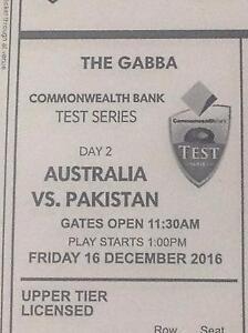"3 tickets to Australia v Pakistan ""The Gabba"" Elanora Gold Coast South Preview"
