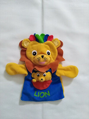 Baby Einstein Lion with Cub Hand Puppet Plush  for sale  Shipping to Canada