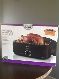BRAND NEW Rival self basting  roaster oven