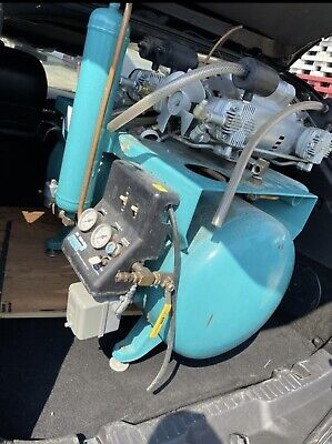 Daul Motor Air Compressor By Apollo Dual Head Dental Compressor 30gal