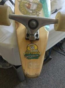 Used Sector 9 Bamboo Series Teahupoo Pintail Longboard COMPLETE Carlton Melbourne City Preview