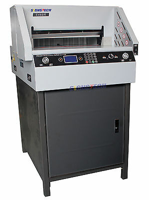 18 Paper Guillotine Cutter Cutting Machine Programmable Trimmer 460mmeconomic